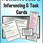 Inferencing Guide for Students & Task Cards Reading Skills, Teaching Reading, Speech Language Therapy, Speech Therapy, Common Core Ela, Learning Activities, Educational Activities, Inference, Teaching Tips