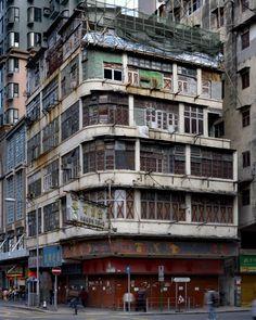 Corner Houses \\ Hong Kong