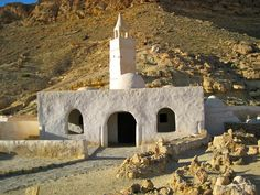 Around Tataouine, Tunisia | The Mosque of the Seven Sleepers