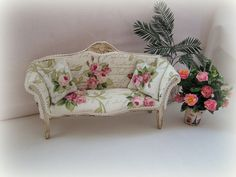 Hey, I found this really awesome Etsy listing at http://www.etsy.com/listing/156356398/dollhouse-miniature-shabby-chic-sofa