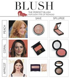 Makeup Suggestions for #Redheads - Can Redheads Wear Blush? - Best Blush Advice for Those With Red Hair | How to be a Redhead #RedheadMakeup