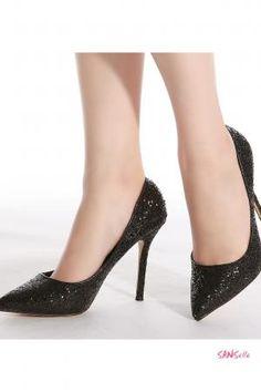 Grossiste chaussure de soirée noire
