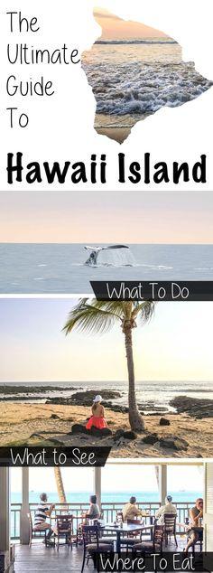 What To Do Hawaii Big Island Island