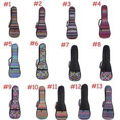 21 23 26 Soft Pad Cotton Gig Hand Padded Bag Case Cover for Concert Ukulele
