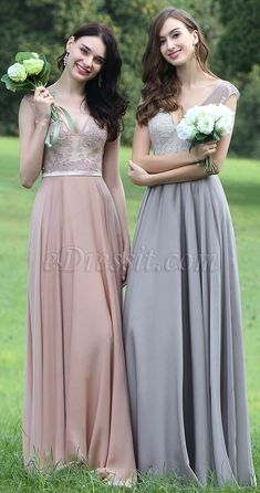 Blush Sexy Prom Dress with Lace and Beads #eDressit