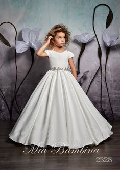 Flower girl dresses, christening gowns, custom dresses for weddings, birthday dresses, baptism / special occasion dress boutique Girls Party Dress, Birthday Dresses, Girls Dresses, Flower Girl Dresses, First Communion Dresses, Baptism Dress, Dress Vestidos, Dress First, Holiday Outfits