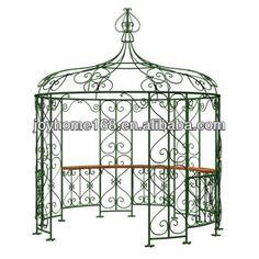 #wrought iron gazebos for sale, #ornamental iron gazebo, #metal garden gazebo