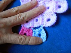My world of crochet: Tutorial: Pixel ceiling
