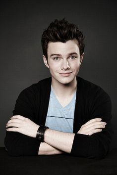 CHRIS COLFER! :D Plays Kurt Hummel on the FOX show, Glee Chris Colfer, The Land Of Stories, Glee Fashion, Glee Cast, Cory Monteith, Darren Criss, Favorite Person, My Boys, I Laughed