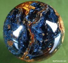 Pietersite--gorgeous in a pendant setting.