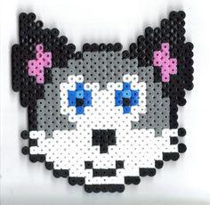 wolf perler beads - Google Search