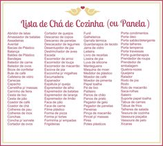 dicas do que pedir no chá de panela D House, Open House, Dream Wedding, Wedding Day, Kitchen Shower, Maybe One Day, Marry You, Autumn Wedding, Bridal Shower