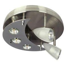 100$ - Hampton Bay - Projecteur à 5 lumières avec verre givré - 001-5651/2+3 PT - Home Depot Canada