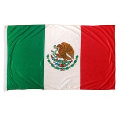 Online Stores Mexico Superknit Polyester Flag, 3 by 5-Feet by Online Stores. $9.83. Sturdy nylon header and brass grommets. High tech silky looking knitted polyester. Super durable. Our printed Superknit; Polyester Mexico flags are very attractive, durable and great value. These flags are printed on a high tech silky looking knitted polyester fabric. This fabric is almost as durable as nylon, and looks great for use outdoors or indoor. At this price why not ge...