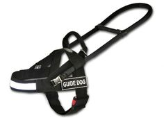 Dean and Tyler Guide Light Nickel Hardware Nylon Dog Harness BlackReflective Medium  Fits Girth 29Inch to 39Inch Chest Size 22Inch Max *** You can get more details by clicking on the image. #DogHarnesses