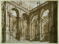 Bibbiena, scenografia, XVII secolo