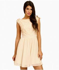 cb5c958c11f romantic dress pink beige Buy Dresses Online