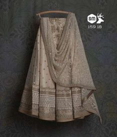 Explore from latest collection of lehengas online. Shop for lehenga choli, wedding lehengas, chaniya choli, ghagra choli & designer lehengas in variety of colors. Indian Gowns Dresses, Indian Fashion Dresses, Indian Designer Outfits, Royal Dresses, Indian Bridal Outfits, Indian Bridal Wear, Pakistani Outfits, Half Saree Designs, Lehenga Designs