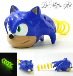 Sonic the Hedgehog pipe. Love it