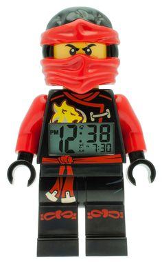 Lego Ninjago Kai Wecker Digitalwecker Alarm 9009440, Beleuchtung, Tagesalarm, Schlummerfunktion, Höhe ca. 25 cm, bewegliche Gelenke, lauter Piepton, rote Display-Hintergrundbeleuchtung  http://www.uhren-versand-herne.de/lego-ninjago-kai-wecker-digitalwecker-alarm-9009440.html