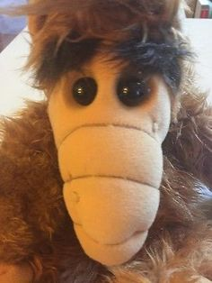 """Vintage 18"""" ALF Plush Alien Life Form Stuffed Animal Coleco Doll Alien Products"""