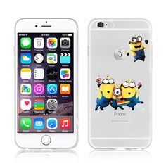2015 New Fashion Despicable Me Yellow Minion Design Case cover For iphone 6 4.7 inch