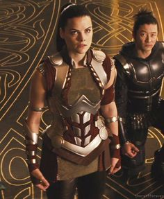 Not enough Hogun, ever. Pretending Sif is gonna let Wonder Woman borrow her outfit.