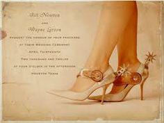 Western/cowboy wedding ideas   ... Invitations for Western Themed Weddings   Outdoor Wedding Ideas