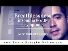 Gabe Martinez explains how he managed to overcome his shortness of breath, insomnia and other symptoms with the Buteyko Method, at first with a DIY approach . Mental Illness Symptoms, Depersonalization, Sleeping Too Much, Shortness Of Breath, Coping With Stress, Insomnia, Feelings, Learning, Youtube