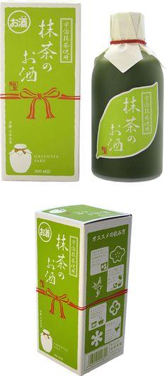 Green-Tea Sake! best of both worlds green tea and #saki PD