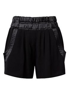 Womens Collection Shorts | Collection Satin Trim Short | Seed Heritage