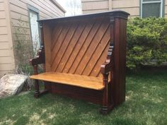 repurposed upright piano