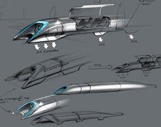 Hyperloop - Proposed Highspeed Transit System between LA and SF
