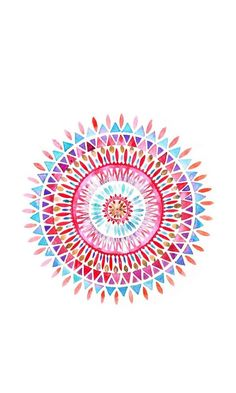 Mandala ★ Find more watercolor Android + iPhone wallpapers @prettywallpaper: