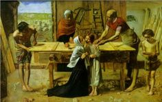 Christ in the House of His Parents by John Everett Millais 1849