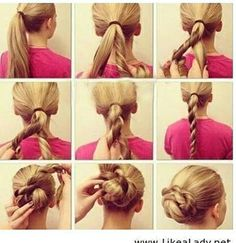 hair tutorials for long hair styles
