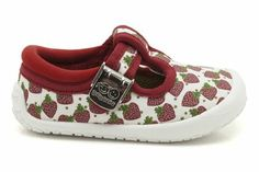 Girls Canvas Shoes - Spotty Heart in Red/White from Clarks shoes Clarks, Red And White, Baby Shoes, Canvas, Heart, Girls, Clothes, Fashion, Tela