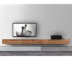 FGF Mobili Massivholz Lowboard 300 cm Hängend Parawood