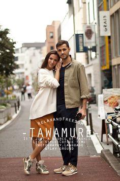 戯 -TAWAMURe-: SNAP #33 thanks!! #fashionblogger #streetsnap #knit