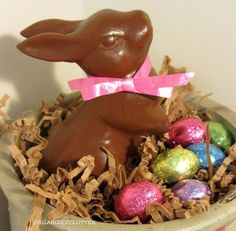 Chocolate Easter Bunnies..