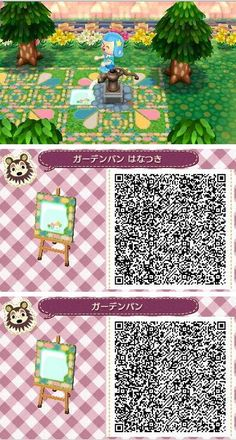 New Leaf QR Paths Only (newleaf-fashion: These drain patterns are super...)