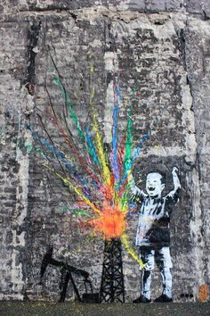 Artist Dot Dot DOT....., One of my favorite street artists