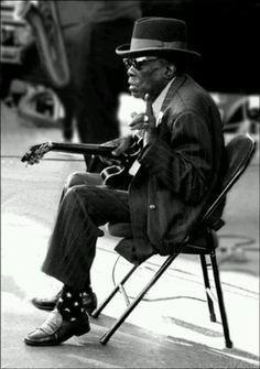 John Lee hooker was not a very big man, but he was a huge soul....