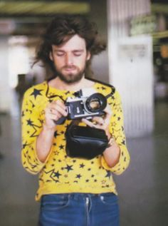 Rick Wright of Pink Floyd. Adorbs.