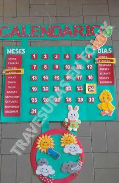 calendario para el aula de clases