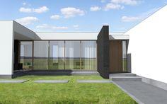 nowoczesne domy parterowe