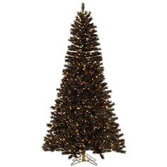 Vickerman 331729  65 x 42 Mardi Gras Tinsel 450 Clear DuraLit Miniature Lights Christmas Tree A148566 * You can find more details by visiting the image link.