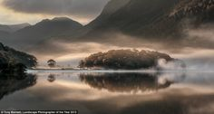 This picture is called Mist And Reflections and was taken in Crummock Water, Cumbria. It made Tony Bennett Landscape Photographer of the Year in 2013 and was also the Overall Adult Winner