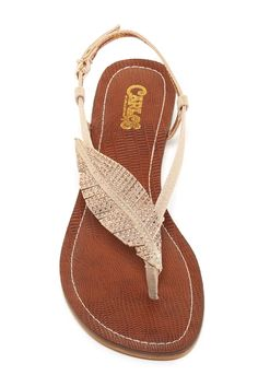 Carlos By Carlos Santana - Tandy Embellished Wedge Sandal at Nordstrom Rack. Free Shipping on orders over $100.