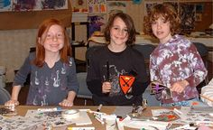 blog from Michener Art Museum- great in-classroom art ideas, especially for middle school